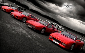 Picture aircraft, Ferrari, Playground