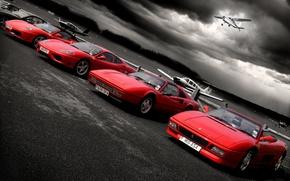 Wallpaper Playground, Ferrari, aircraft