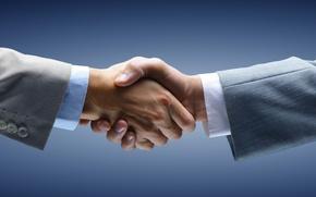 Picture hands, greeting, handshake