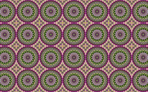 Picture circles, pattern, ornament