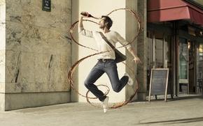 Wallpaper street, jet, male, coca-cola, photographer, Roman lourent
