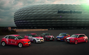 Picture Audi, Audi, Machine, Allianz Arena, Allianz Arena, Audi Cup