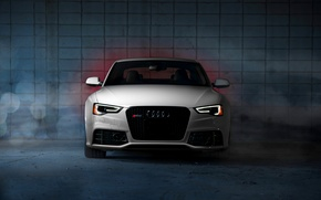 Picture Audi, white, RS5, front