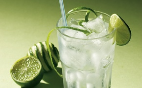 Picture ice, freshness, cocktail, lime, citrus, drinks