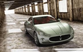 Picture Maserati, auto, render, 3d max, vray