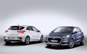 Picture photo, Hyundai, Cars, Two, 2015, i30 Turbo