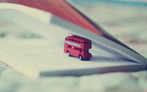 Picture macro, book, bus