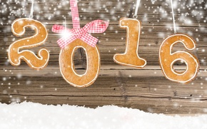 Picture New year, New Year, cookies, decoration, Happy, 2016