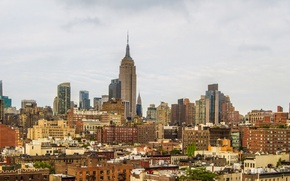 Picture City, skyline, panorama, New York, Manhattan, NYC, New York City, Empire State Building, buildings, architecture, …