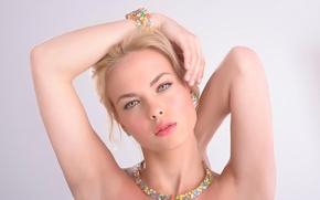 Picture portrait, makeup, Colors of Beauty