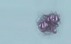 Picture water, hands, art, octopus, miranda meeks