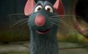 Picture cartoon, Ratatouille, mouse