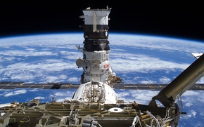 Picture Space, ISS, gateway, Earth, Russian sector