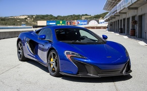 Picture blue, carbon, mclaren, 650S
