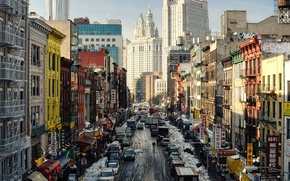 Picture new York, New York City, East Broadway, Chinatown