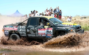 Picture Water, Auto, Sport, Machine, People, Dodge, Race, Day, Jeep, Squirt, Rally, Dakar, SUV, Rally, Side …