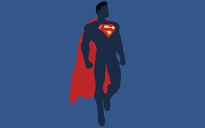 Picture minimalism, Superman, Minimal, Superman, DC Comics, Justice League, Justice League
