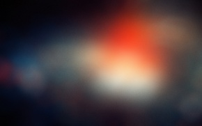 Wallpaper light, spot, noise, bright, blue, macro, orange, blur, color, bokeh, bokeh, Boke, grain, grain, lens ...