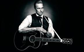 Picture background, guitar, guitarist
