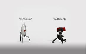 Picture i'm a mac, and, i'm a pc
