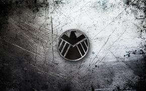 Picture metal, Eagle, logo, black