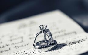 Picture macro, stones, ring