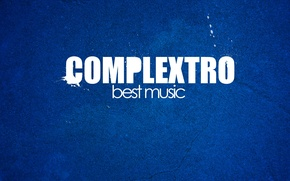 Picture music, music, blue background, complexto, complextro