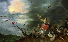 Picture picture, Jan Brueghel the younger, Allegory Of Air