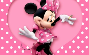 Picture heart, mouse, ring, Disney, Mickey Mouse, Mickey Mouse, Disney