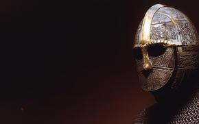 Picture rendering, warrior, helmet, mail