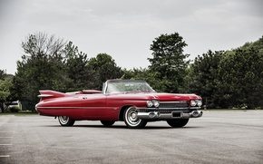 Wallpaper Cadillac, Cadillac, Convertible, 1959, Sixty-Two