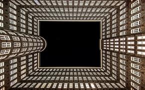 Picture the building, Windows, Germany, architecture, Hamburg, Germany, Hamburg