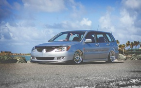 Picture wheels, mitsubishi, japan, jdm, tuning, lancer, evolution, evo, low, wagon, stance, dapper