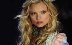 Picture model, blonde, show, fashion, Victoria's Secret