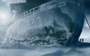 Wallpaper Ship, Ice, Rammstein, Rosenrot