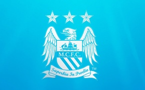 Picture wallpaper, sport, logo, football, Manchester City FC