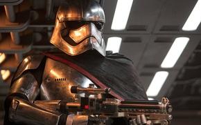 Wallpaper captain phasma, The Force Awakens, Star Wars, Episode VII