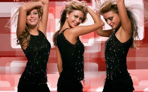 Picture Holly Valance, Blonde, SeeThru Top, Soap Star