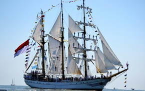 Picture photo, ships, sailing, dewaruci