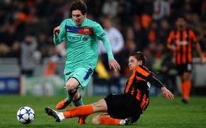 Picture football, mine, Messi, Champions League, Rakitskaya