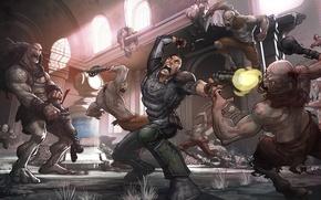 Picture Postapokalipsis, Battle, Rage, Mutants, Rage, Patrick Brown, Postapocalypse