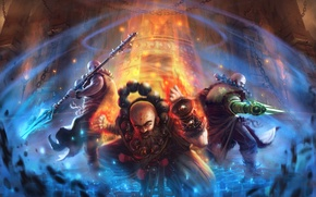 Picture energy, sphere, Diablo 3, monk, guardians of the temple
