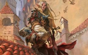 Picture elf, Magic: The Gathering, Jesper Ejsing, Selvala's Enforcer