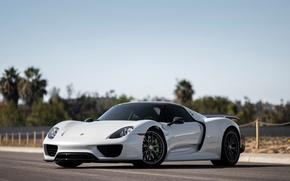 Wallpaper Porsche, Spyder, supercar, 918, Porsche