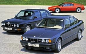 Picture BMW, E34, E28