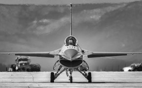 "Wallpaper fighter, the airfield, F-16, Fighting Falcon, multipurpose, ""Fighting Falcon"""
