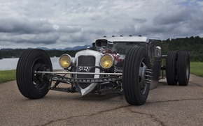 Picture hot rod, chrome, Cutworm, Dually