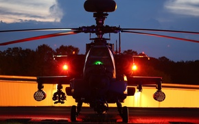 """Picture helicopter, Apache, AH-64D, shock, """"Apache"""""""