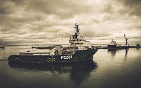 Picture the ship, ship, posh, oilandgas, supplyvessel, offshore, offshorevessel, anchorhandling, ahts, M.Safiullin, multipurposevessel, posh commander