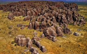 Picture mountains, stones, rocks, Australia, Purnululu National Park